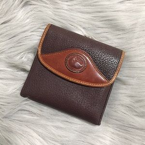Dooney&Bourke All Weather Leather Tri-Fold Wallet